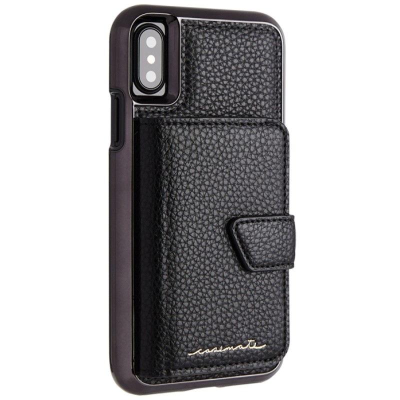 Case-Mate Compact Mirror Case iPhone X/Xs Black 01
