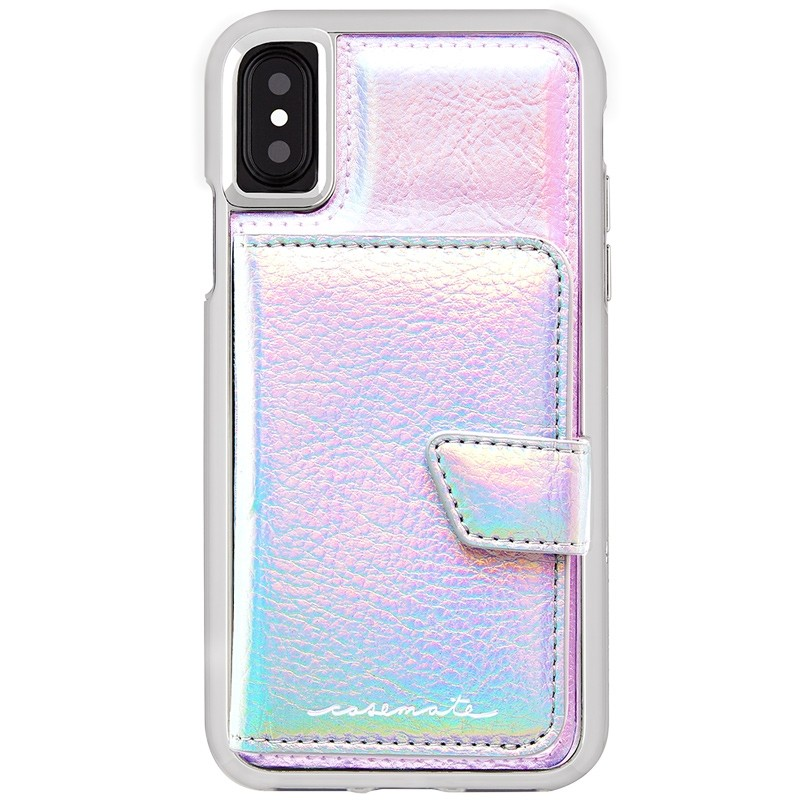 Case-Mate Compact Mirror Case iPhone X/Xs Iridescent 02