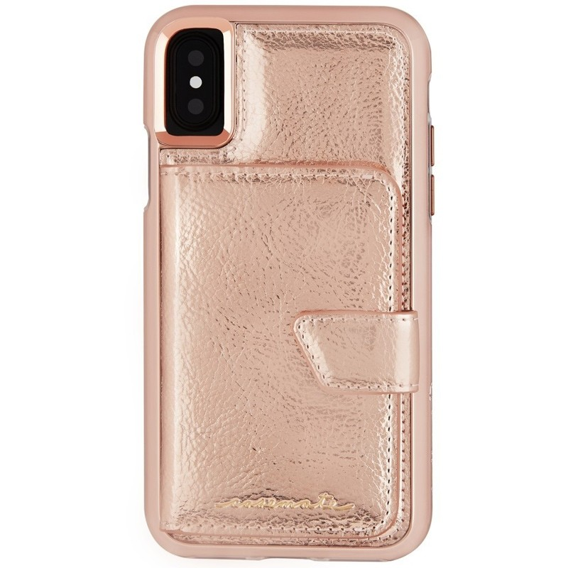 Case-Mate Compact Mirror Case iPhone X/Xs Rose Gold 02