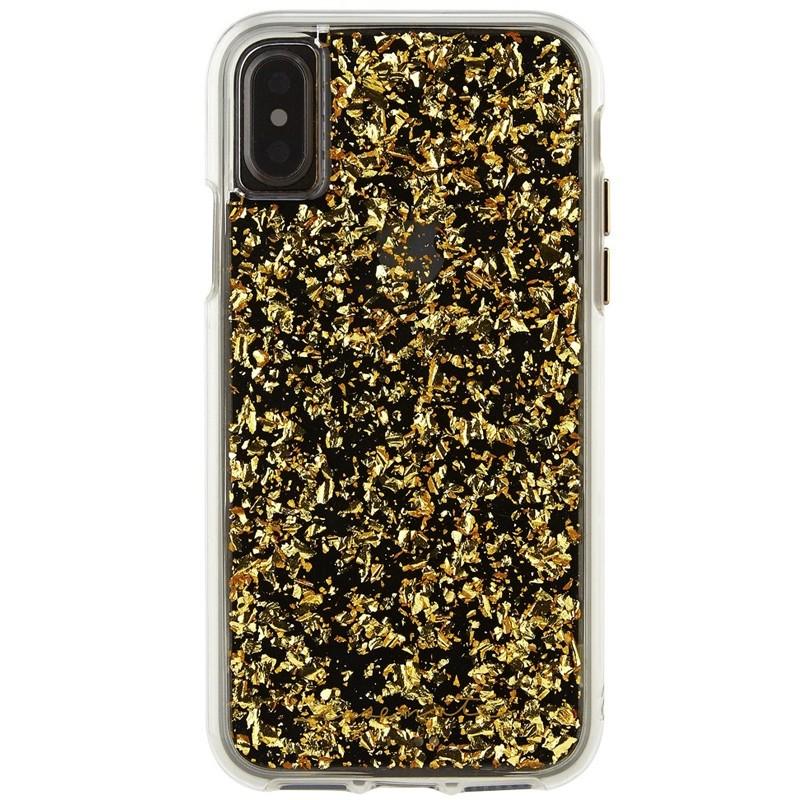 Case-Mate Karat Case iPhone X/Xs Gold 01