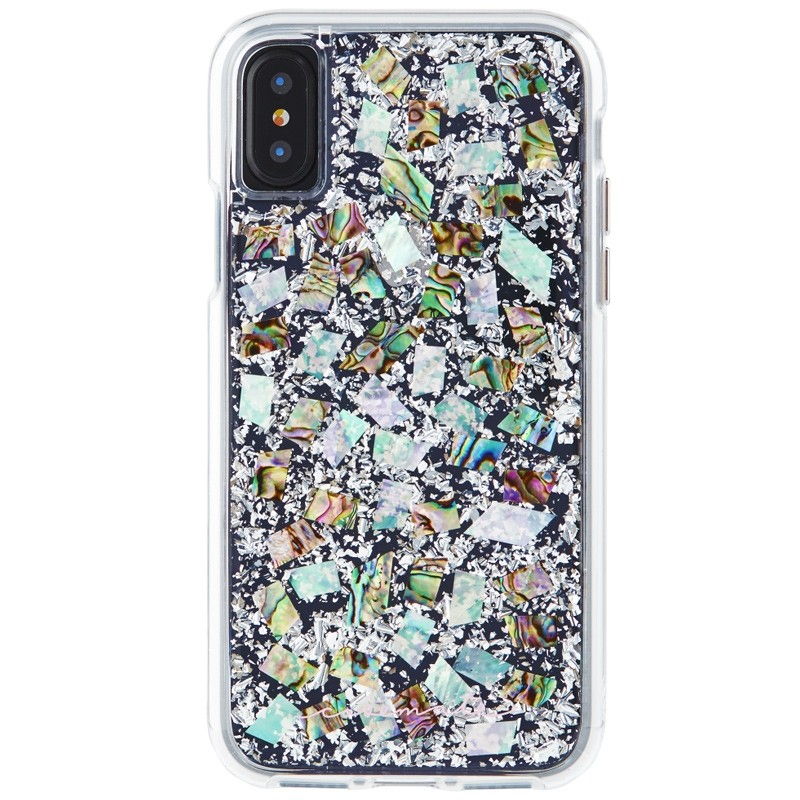 Case-Mate Karat Case iPhone X/Xs Pearl 01