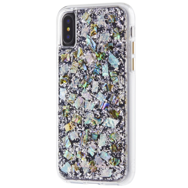 Case-Mate Karat Case iPhone X/Xs Pearl 02