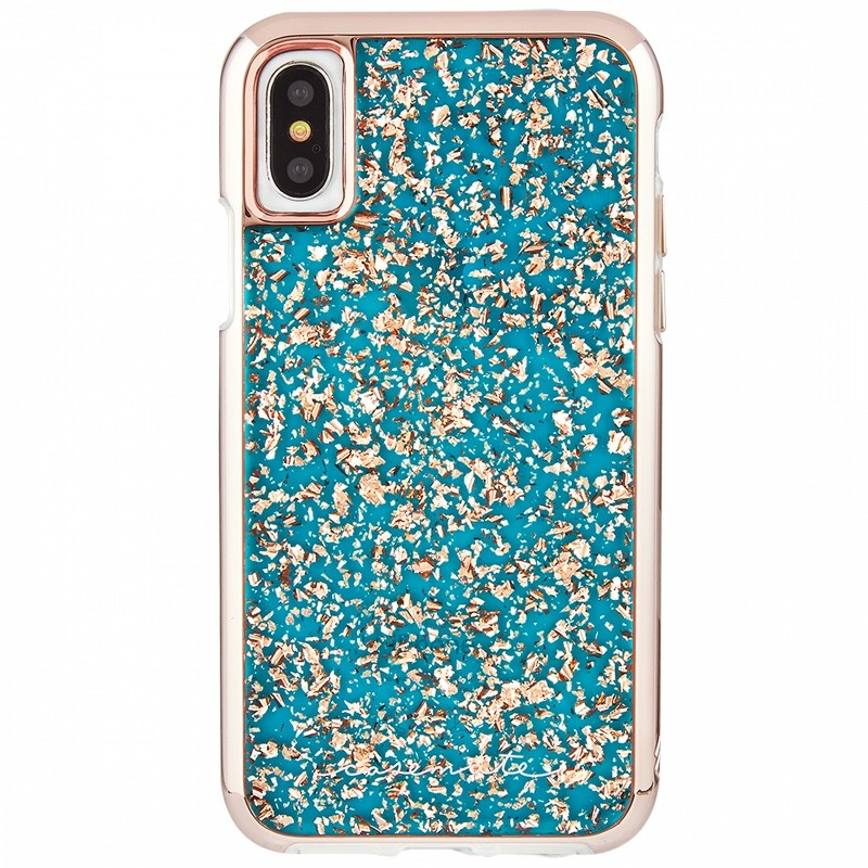 Case-Mate Karat Case iPhone X/Xs Turquoise 01
