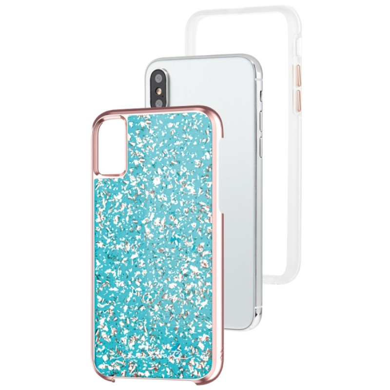 Case-Mate Karat Case iPhone X/Xs Rose Gold 03