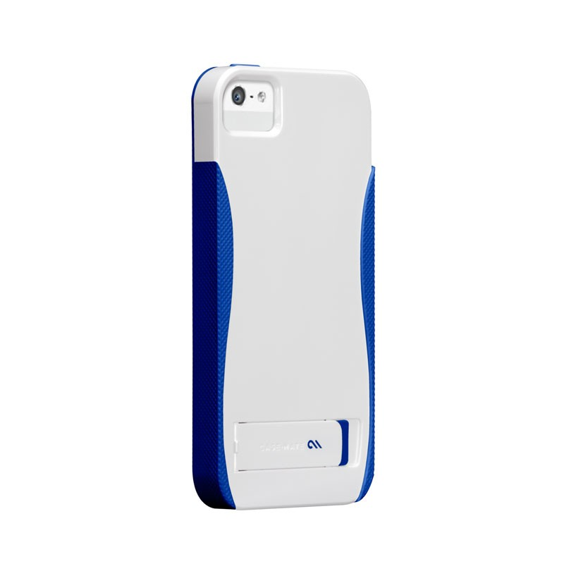 Case-mate - Pop! Case iPhone 5 (White-Blue) 01
