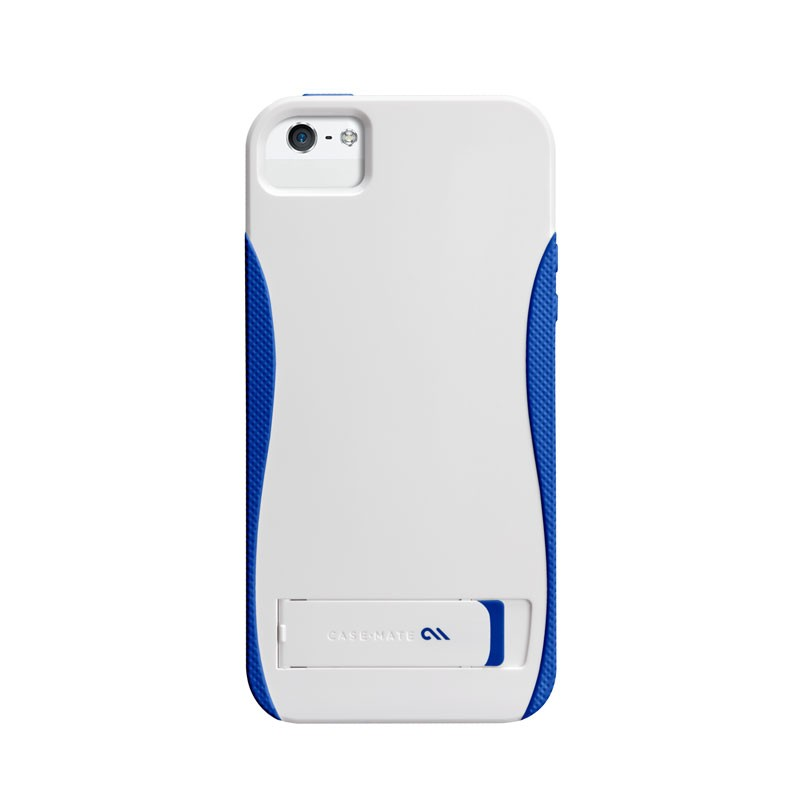 Case-mate - Pop! Case iPhone 5 (White-Blue) 02