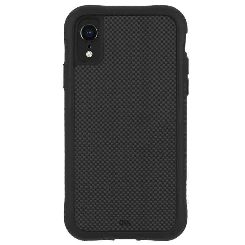 Case-Mate Protection Collection iPhone XR Hoes Zwart Carbon 01