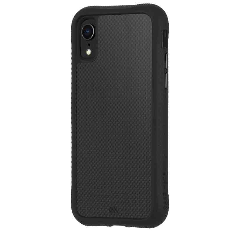 Case-Mate Protection Collection iPhone XR Hoes Zwart Carbon 02
