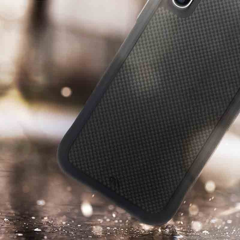 Case-Mate Protection Collection iPhone XR Hoes Zwart Carbon 06