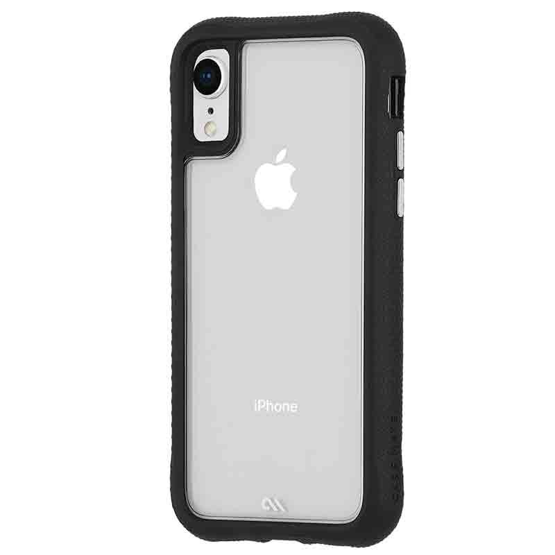 Case-Mate Protection Collection iPhone XR Hoes Zwart Transparant 02