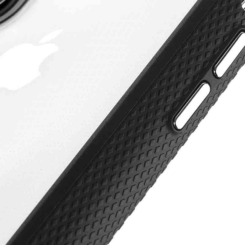 Case-Mate Protection Collection iPhone XR Hoes Zwart Transparant 04