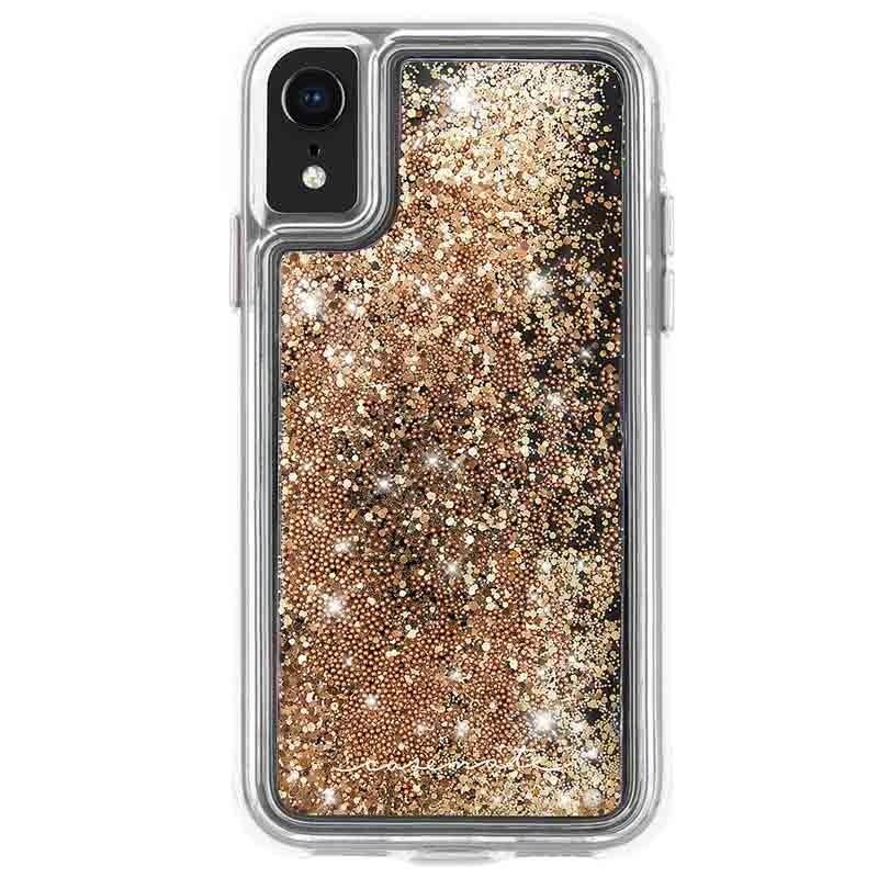 Case-Mate Waterfall Case iPhone XR Goud 01