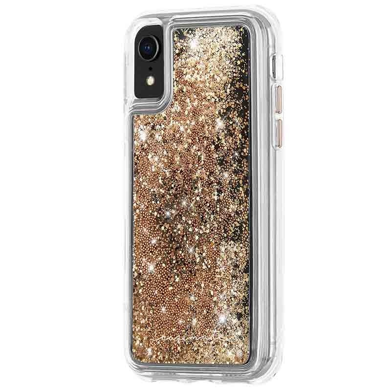 Case-Mate Waterfall Case iPhone XR Goud 02