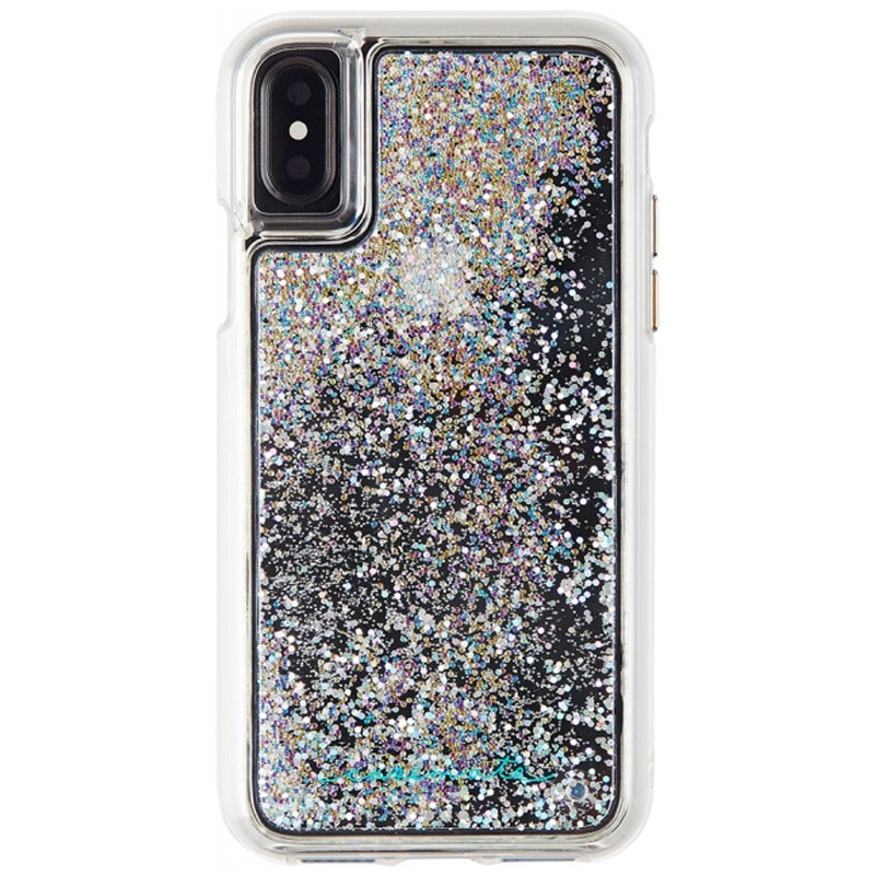 Case-Mate Waterfall Case iPhone X/Xs Iridescent 01