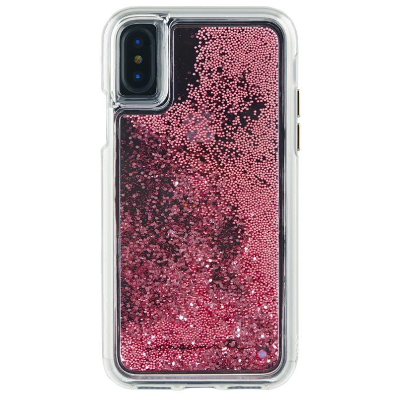 Case-Mate Waterfall Case iPhone X/Xs Rose Gold 01