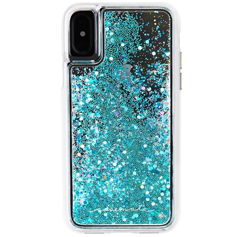 Case-Mate Waterfall Case iPhone X/Xs Teal 01