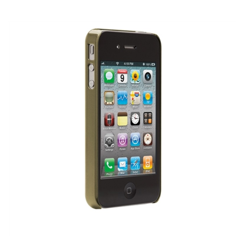 Case-Mate Barely There Brushed Aluminium iPhone 4(S) Gold - 3