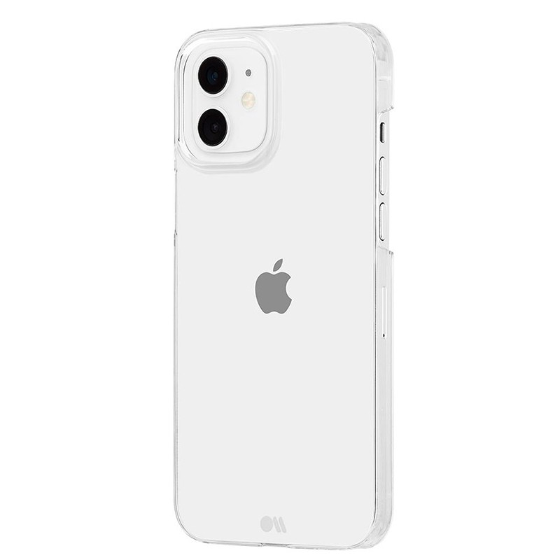 Case-Mate Barely There iPhone 12 Mini 5.4 inch transparant 01