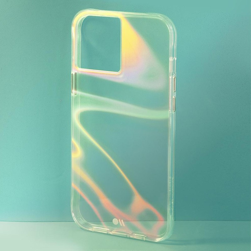 Case-Mate Soap Bubble iPhone 12 / iPhone 12 Pro 6.1 inch Iridescent 06