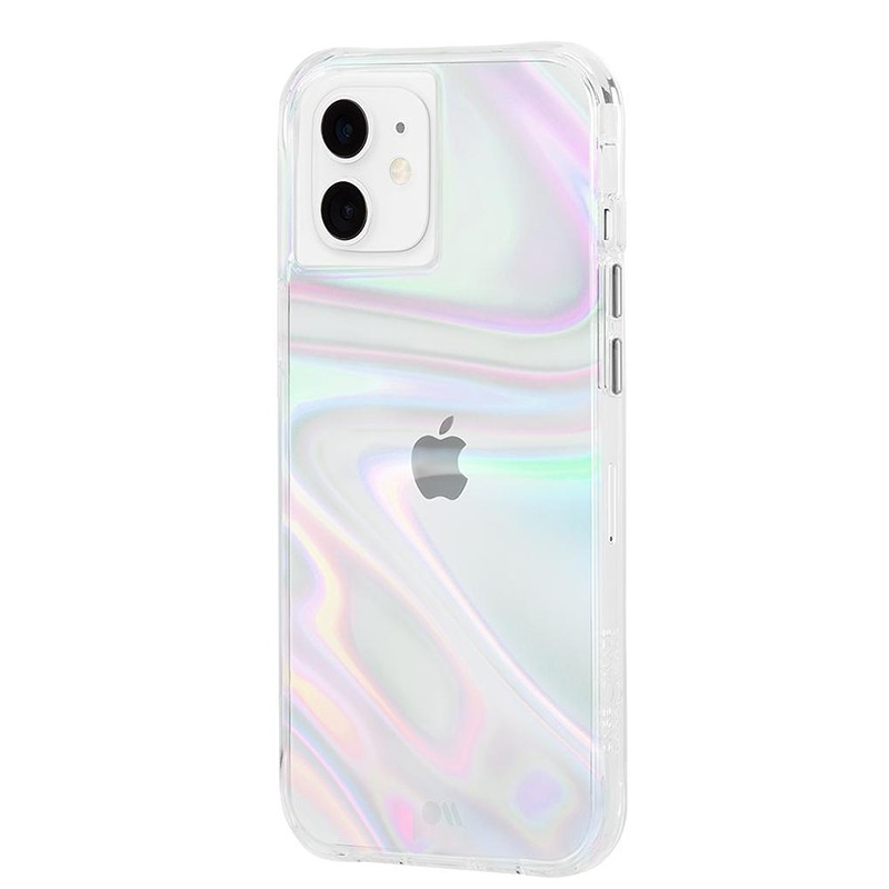 Case-Mate Soap Bubble iPhone 12 / iPhone 12 Pro 6.1 inch Iridescent 01