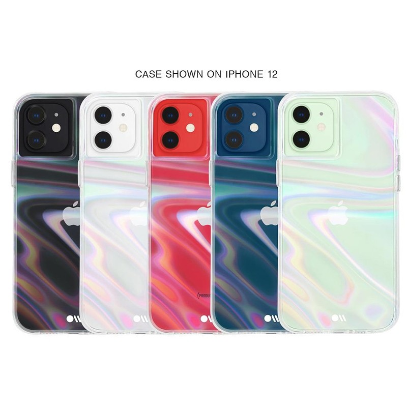 Case-Mate Soap Bubble iPhone 12 / iPhone 12 Pro 6.1 inch Iridescent 05