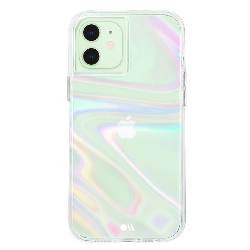 Case-Mate Soap Bubble iPhone 12 Mini 5.4 inch Iridescent 05
