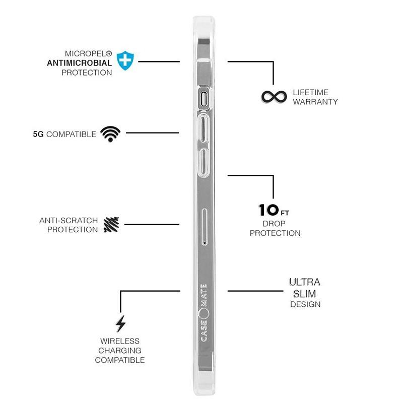 Case-Mate Soap Bubble iPhone 12 Mini 5.4 inch Iridescent 03