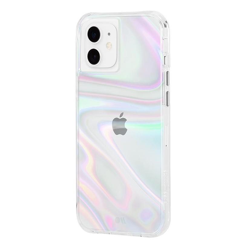 Case-Mate Soap Bubble iPhone 12 Mini 5.4 inch Iridescent 01