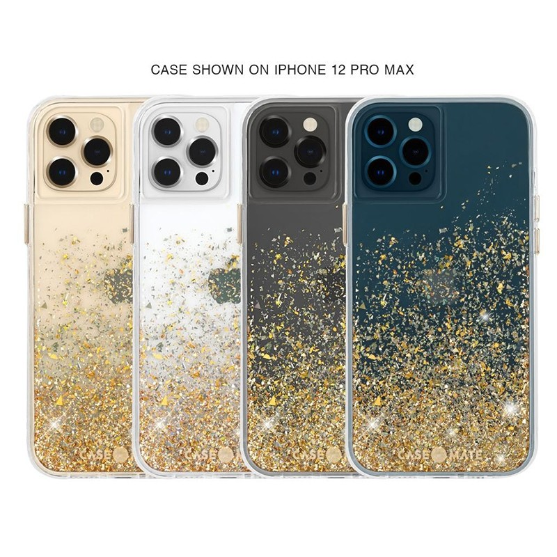 Case-Mate Twinkle Gold iPhone 12 / iPhone 12 Pro 6.1 inch 05