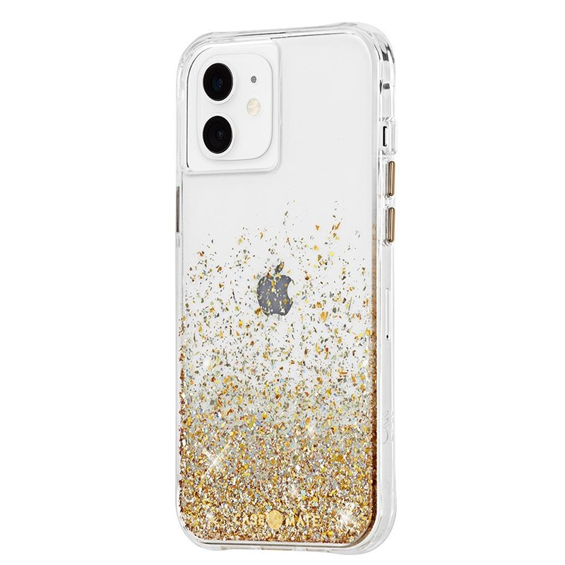 Case-Mate Twinkle Ombre iPhone 12 Mini 5.4 inch Gold 01