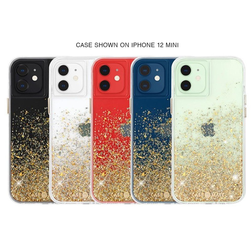 Case-Mate Twinkle Ombre iPhone 12 Mini 5.4 inch Gold 04