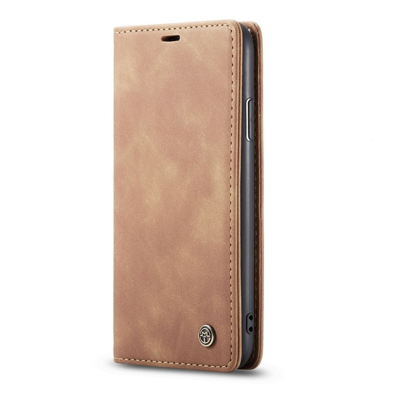 CaseMe Retro Wallet iPhone 11 Bruin - 4