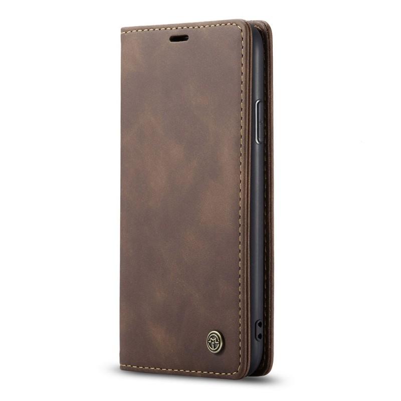 CaseMe Retro Wallet iPhone 11 Coffee - 2