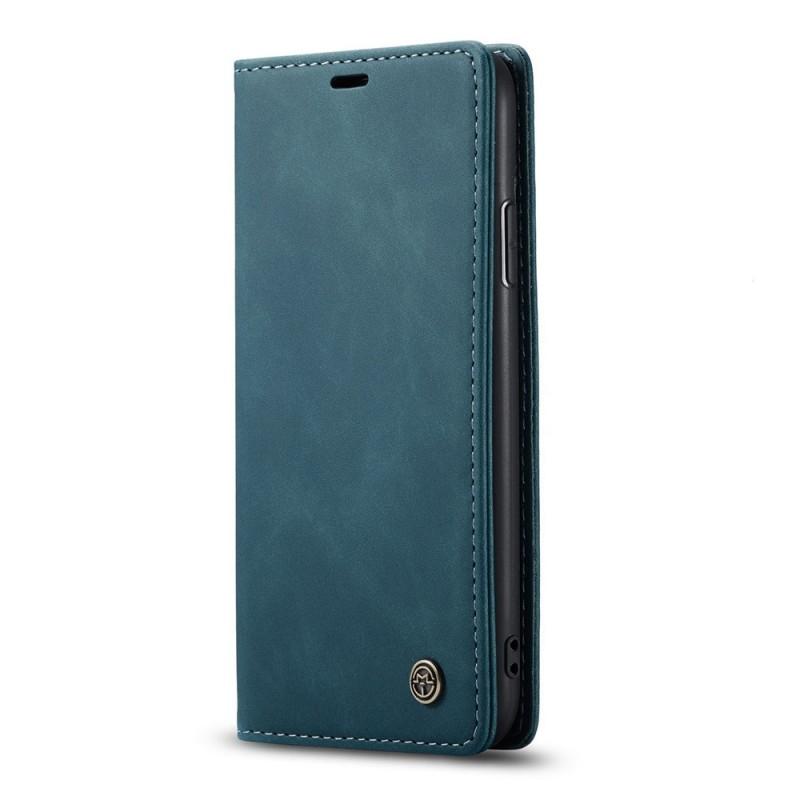 CaseMe Retro Wallet iPhone 11 Pro Blauw - 4