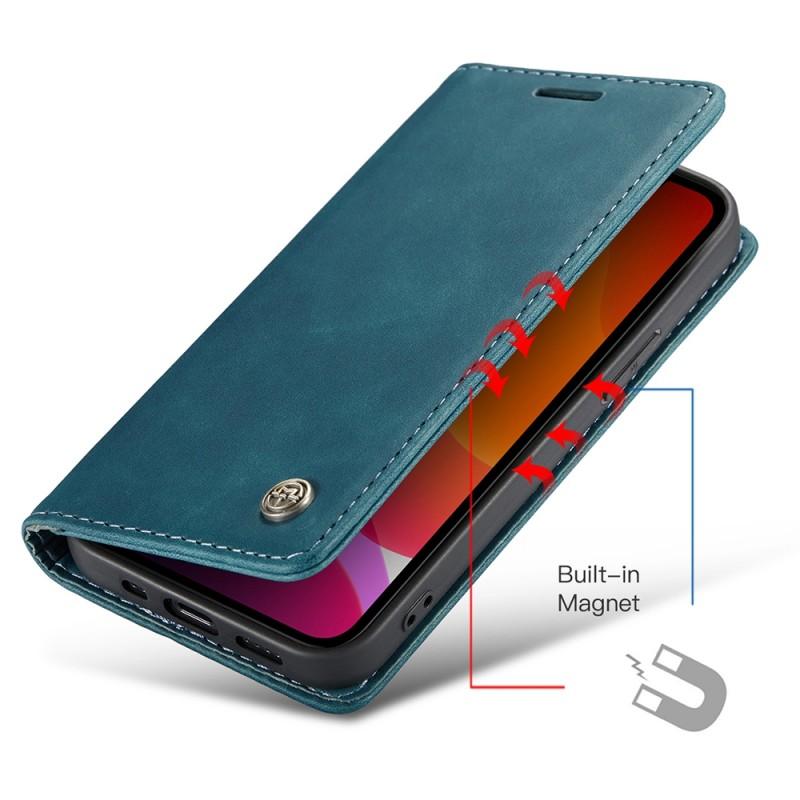 CaseMe Retro Wallet iPhone 11 Pro Blauw - 3