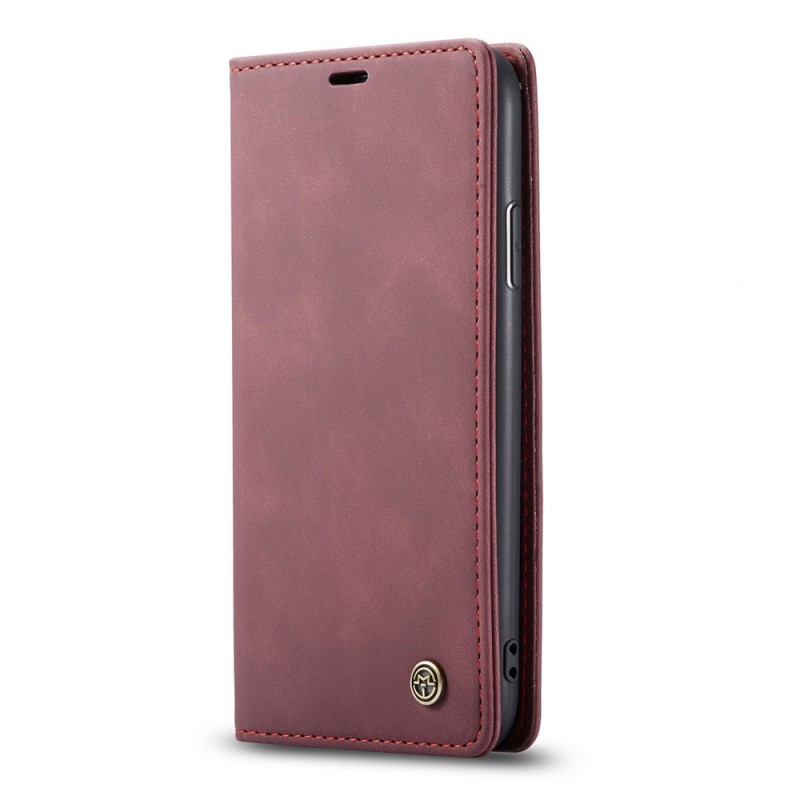 CaseMe Retro Wallet iPhone 11 Pro Max Paars - 4