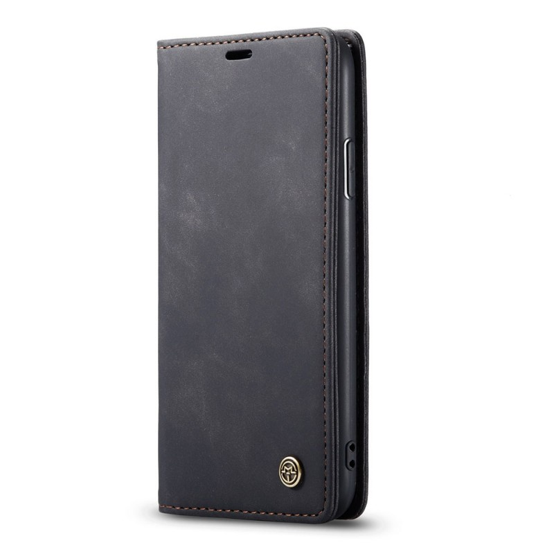 CaseMe Retro Wallet iPhone 11 Pro Max Zwart - 2