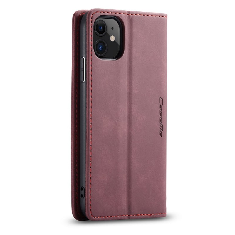 CaseMe Retro Wallet iPhone 11 Pro Paars - 4