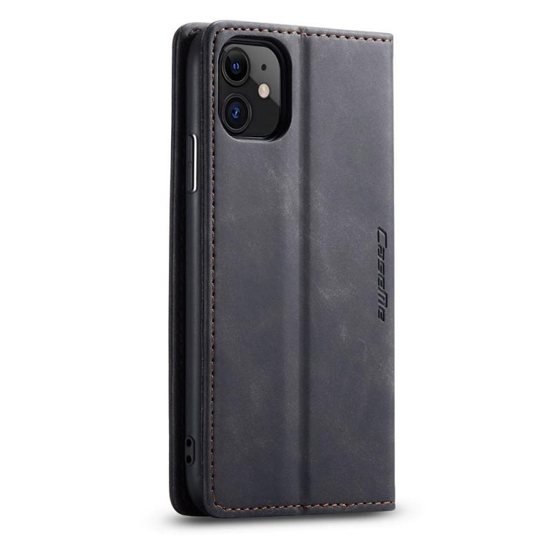 CaseMe Retro Wallet iPhone 11 Pro Zwart - 4