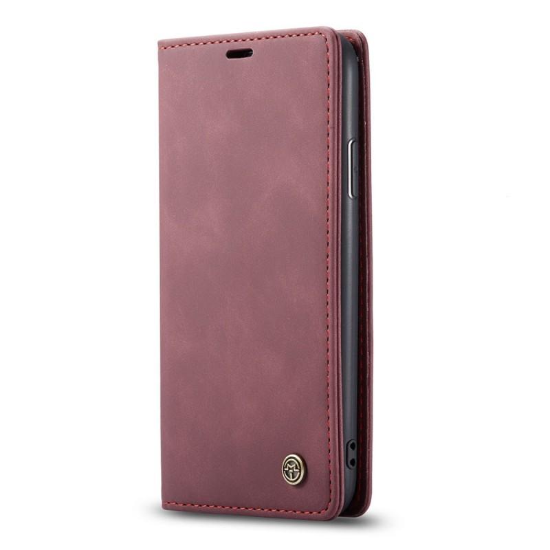 CaseMe Retro Wallet iPhone 11 Paars - 2