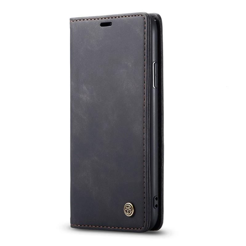 CaseMe Retro Wallet iPhone 11 Zwart - 4