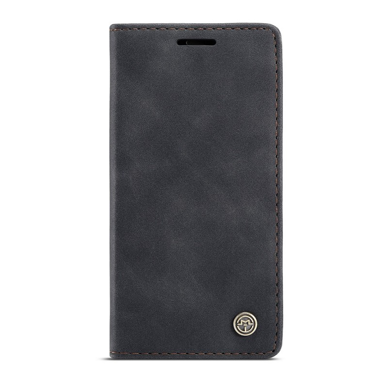 CaseMe Retro Wallet iPhone 12 Mini 5.4 inch Zwart - 4