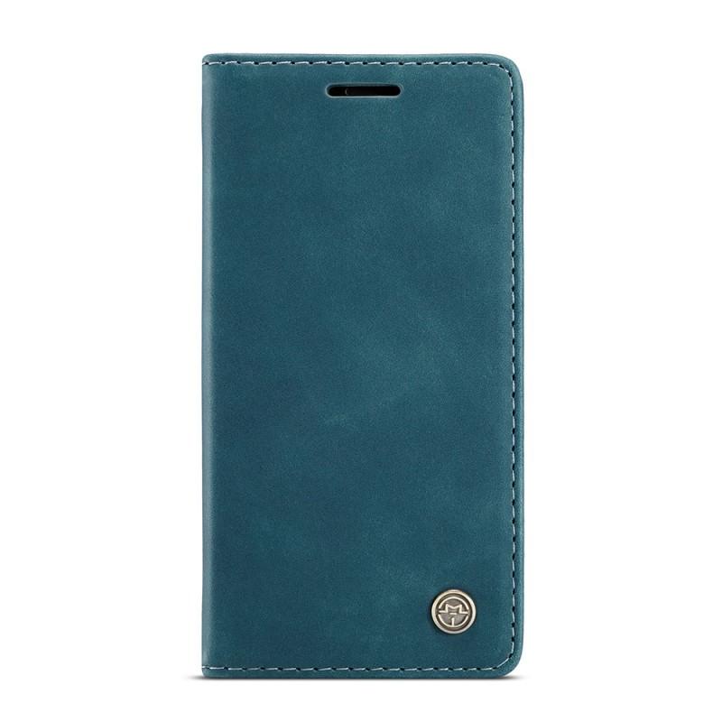 CaseMe Retro Wallet iPhone 12 6.1 inch Blauw - 5