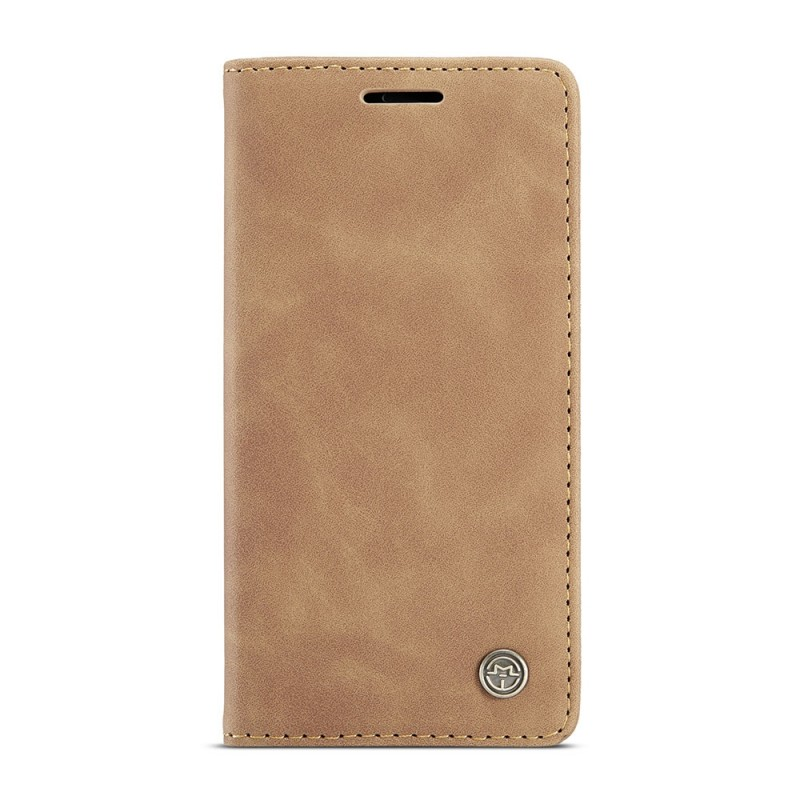 CaseMe Retro Wallet iPhone 12 Pro Max Bruin - 5
