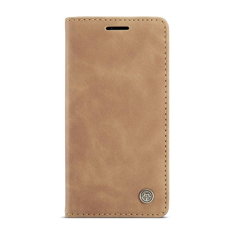 CaseMe Retro Wallet iPhone 12 6.1 inch Bruin - 6