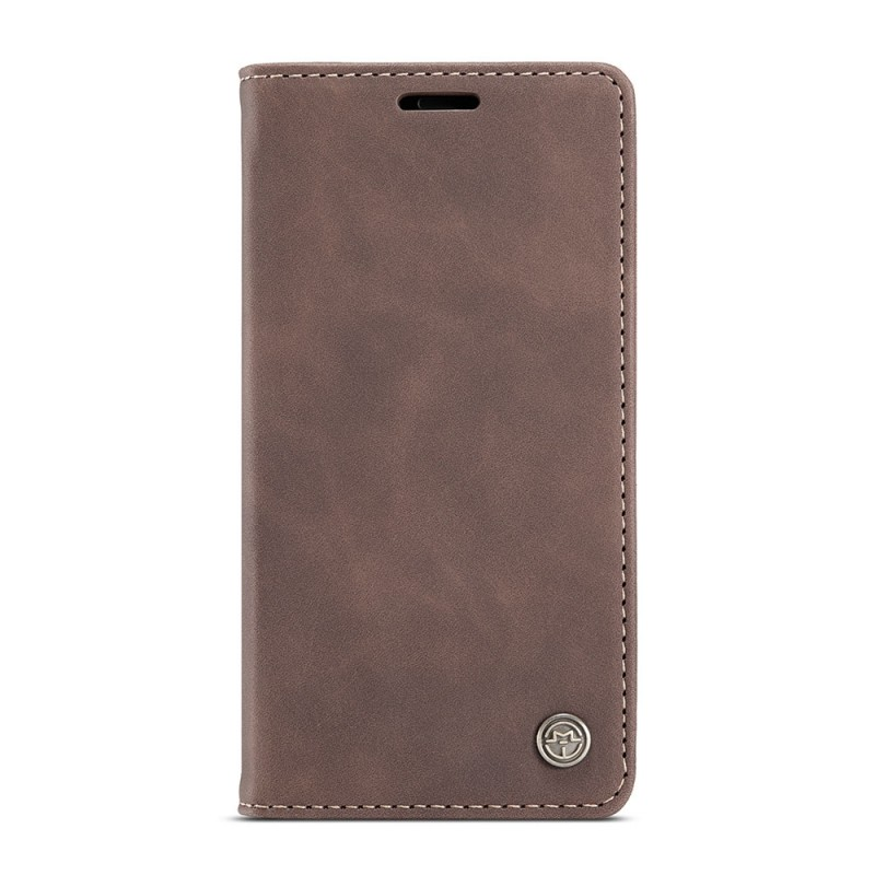 CaseMe Retro Wallet iPhone 12 6.1 inch Coffee - 6
