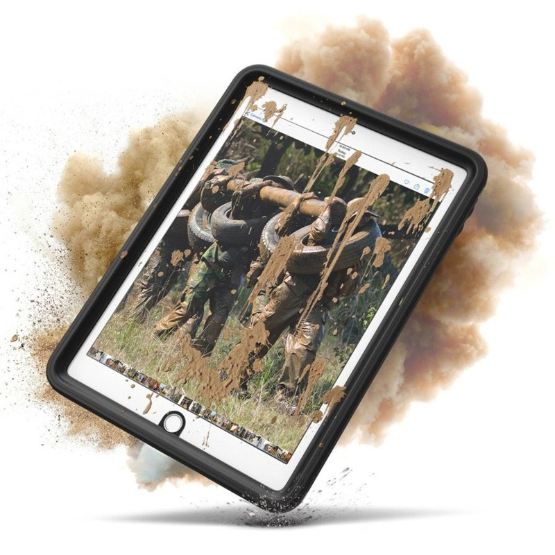 Catalyst Waterproof Case iPad 9,7-inch 2017 / 2018 Black/Clear - 4