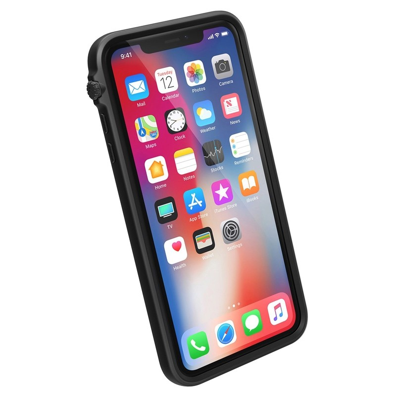 Catalyst Impact Protection Case iPhone XS Max Zwart / Transparant 03
