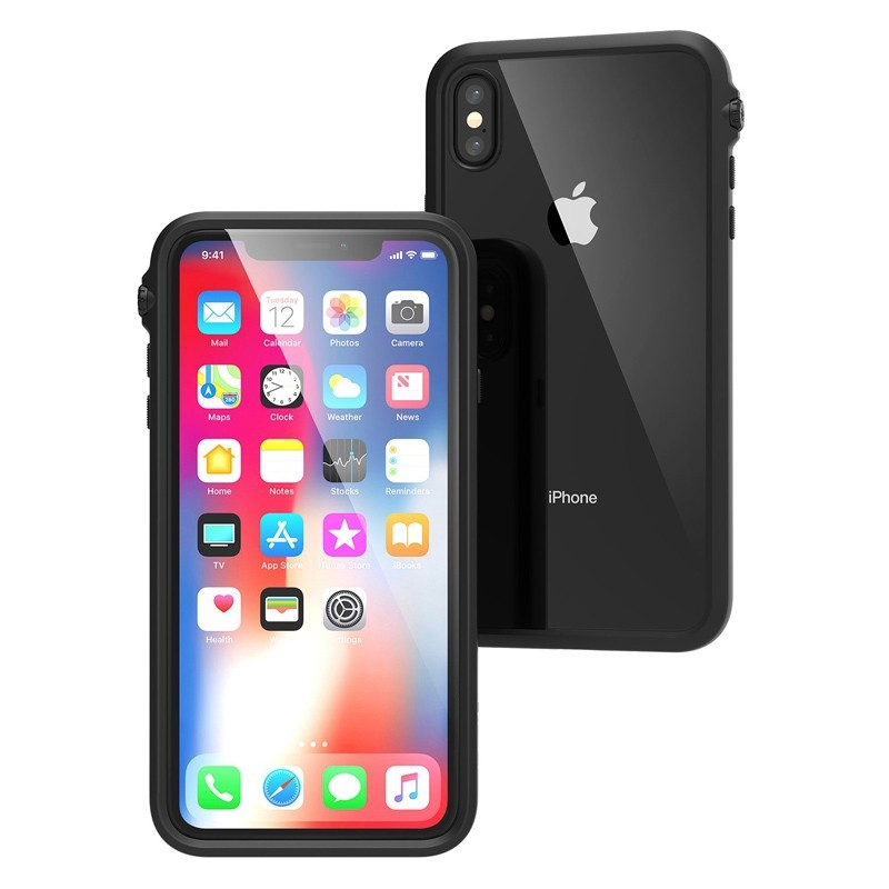 Catalyst Impact Protection Case iPhone XS Max Zwart / Transparant 02