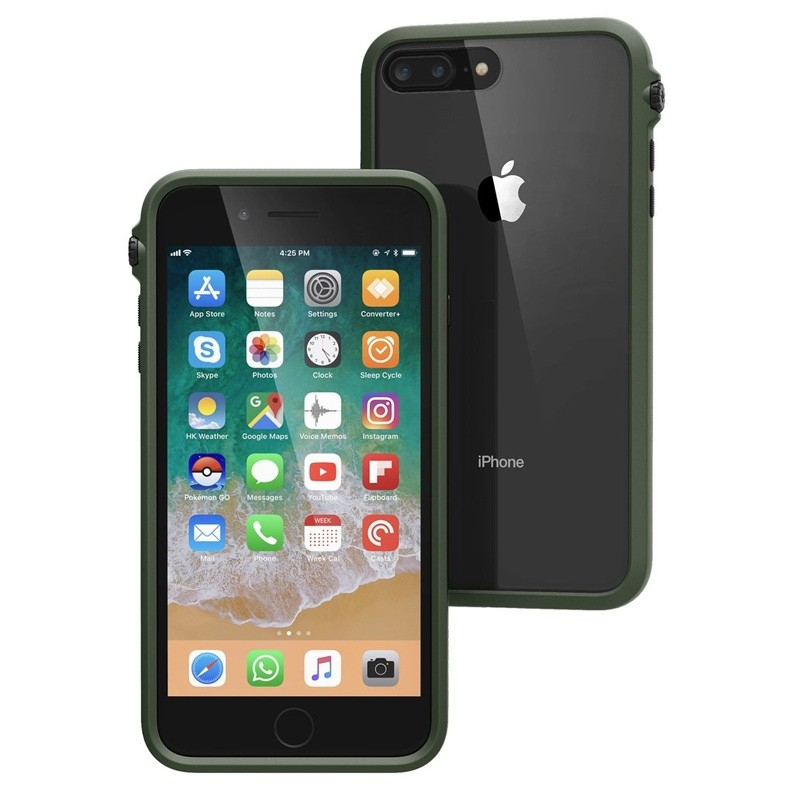 Catalyst iPhone 8 Plus Impact Protective Case Army Green - 1